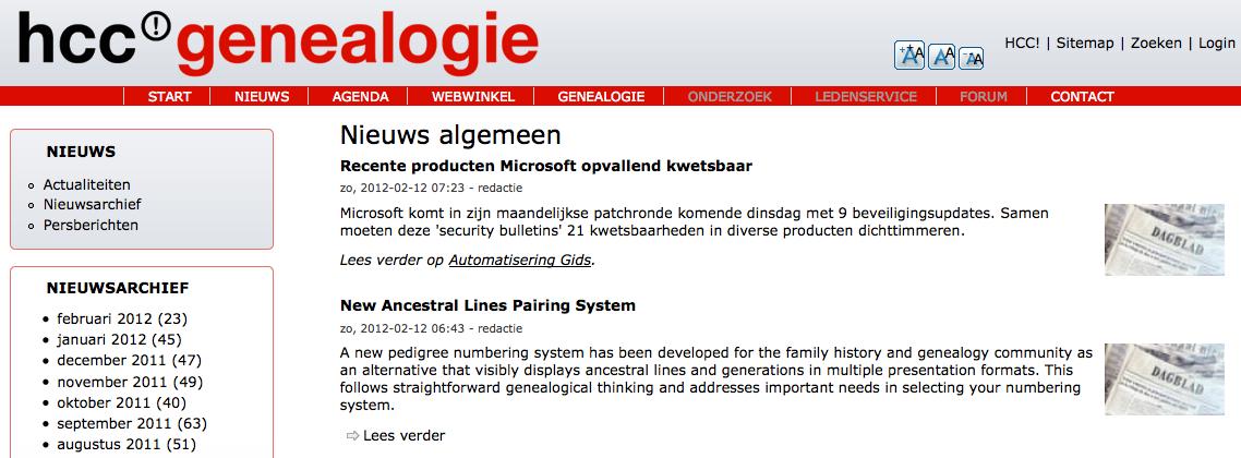 hcc genealogie Website Ancestral Lines 2 - 2012-02-12